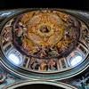 Basilica of Santa Pudenziana, dome with paintings by Pomarancio