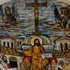 Basilica of Santa Pudenziana, mosaic in the apse