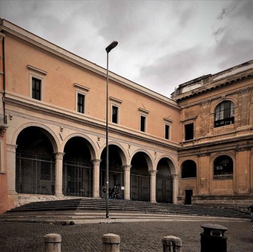 Basilica of San Pietro in Vincoli, arcade façade