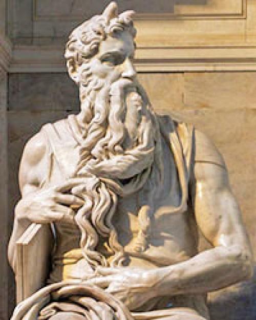 San Pietro in Vincoli, Michał Anioł, Mojżesz - pomnik nagrobny papieża Juliusza II, fragment