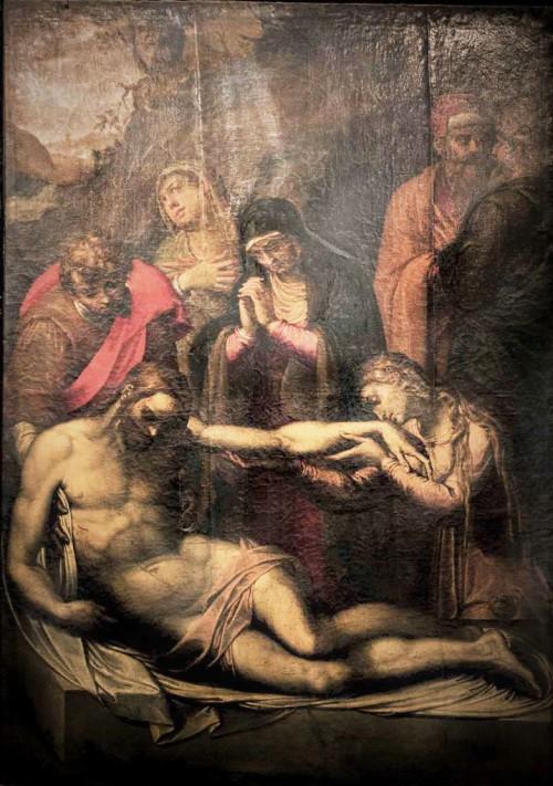 Basilica of San Pietro in Vincoli, The Lamentation, Pomarancio