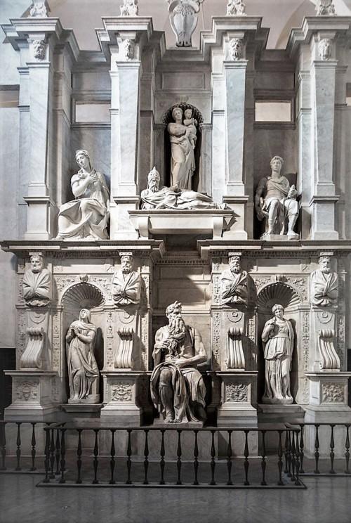 Basilica of San Pietro in Vincoli, funerary monument of Pope Julius II, Michelangelo