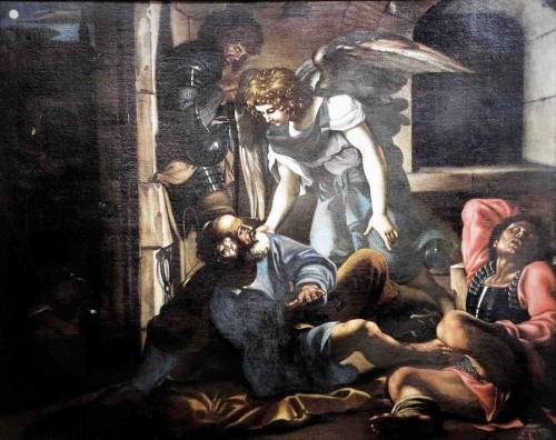 Basilica of San Pietro in Vincoli, The Liberation of St. Peter, Domenichino