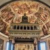 San Pietro in Vincoli, absyda kościoła z manierystycznymi freskami