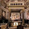 San Pietro in Vincoli, baldachim nad konfesją kajdan św. Piotra