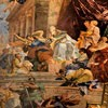 Basilica of San Pietro in Vincoli, fresco, The Miracle of the Chains of St. Peter, Giovanni B. Parodi