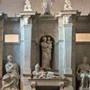 Basilica of San Pietro in Vincoli, statue of the lying pope,funerary monument of Pope Julius II, Michelangelo