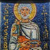 San Pietro in Vincoli, mozaika z VII w., św. Sebastian