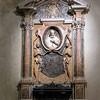 Basilica of San Pietro in Vincoli, tombstone of Cardinal Mariano P. Vecchiarelli