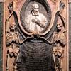 Basilica of San Pietro in Vincoli, tombstone of Cardinal Mariano P. Vecchiarelli, fragment