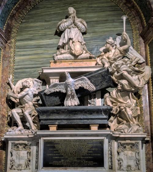 Pietro Bracci, pomnik nagrobny kardynała Giuseppe Renato Imperialego, bazylika Sant'Agostino