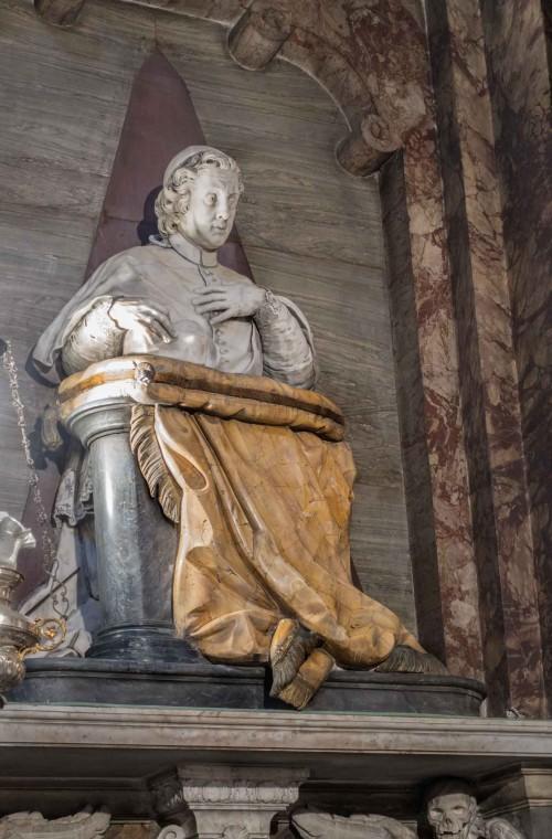 Pietro Bracci, pomnik nagrobny kardynała Pietro Luigi Carafy, kościół Sant'Andrea delle Fratte