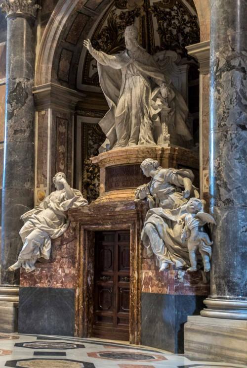 Pietro Bracci, pomnik nagrobny papieża Benedykta XIV, bazylika San Pietro in Vaticano