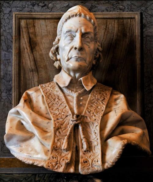 Pietro Bracci, popiersie papieża Klemensa XII, Galleria Borghese