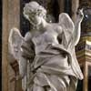 Pietro Bracci, angel from the altar of Jan Berchmans, left transept of the Church of Sant'Ignazio