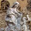 Pietro Bracci, św. Agnieszka z Montepulciano, kościół Santa Caterina da Siena a Magnanapoli