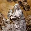 Pietro Bracci, św. Róża z Limy, kościół Santa Caterina da Siena a Magnanapoli