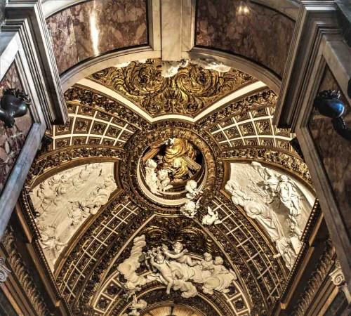 Camillo Rusconi, dekoracje w stiuku, Cappella Antamoro, kościół San Girolamo della Carità