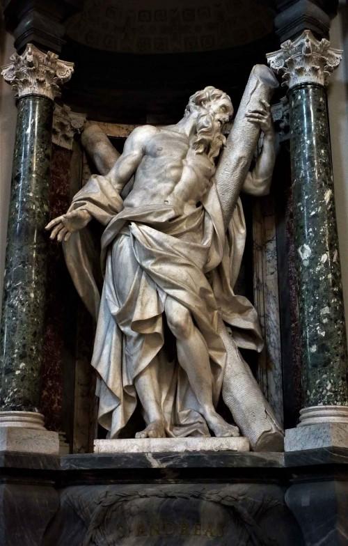 Camillo Rusconi, Św. Andrzej, bazylika San Giovanni in Laterano