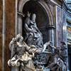 Camillo Rusconi, pomnik nagrobny papieża Grzegorza XIII,  bazylika San Pietro in Vaticano