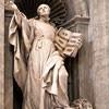 Camillo Rusconi, Św. Ignacy Loyola, bazylika San Pietro in Vaticano