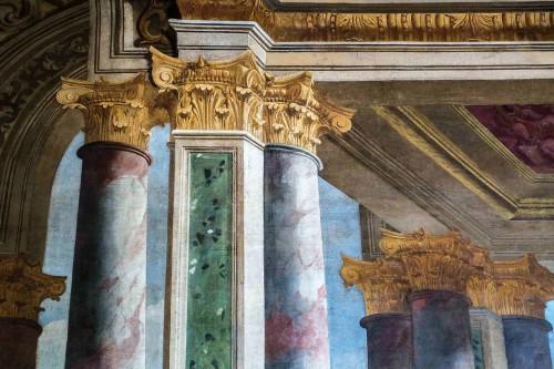 Andrea Pozzo, Convento Santissima Trinità, freski w refektarzu