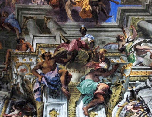 Andrea Pozzo, fragment sklepienia kościoła Sant'Ignazio