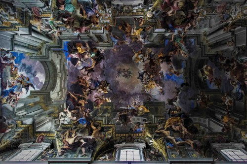 Andrea Pozzo, paintings on the vault of the Church Sant'Ignazio di Loyola