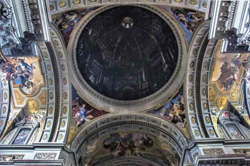 Andrea Pozzo, apparent dome in the Church of Sant'Ignazio di Loyola