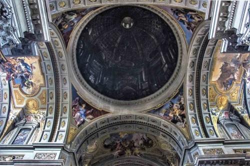 Andrea Pozzo, pozorna kopuła w kościele Sant'Ignazio di Loyola