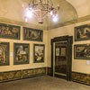 Andrea Pozzo, cykl akwareli przypisywany artyście w przedsionku celi św. Stanisława Kostki, kompleks kościoła Sant'Andrea al Quirinale