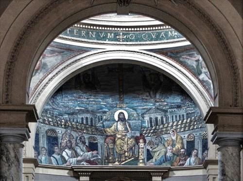 Santa Pudenziana, mozaiki absydy