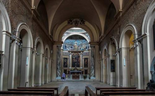 Santa Pudenziana, wnętrze bazyliki