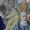 Santa Pudenziana, mozaiki absydy, fragment