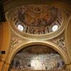 Santa Pudenziana, mozaiki absydy i malowidła w kopule