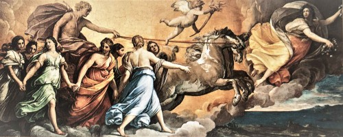 Guido Reni, the fresco Aurora, Casino dell'Aurora