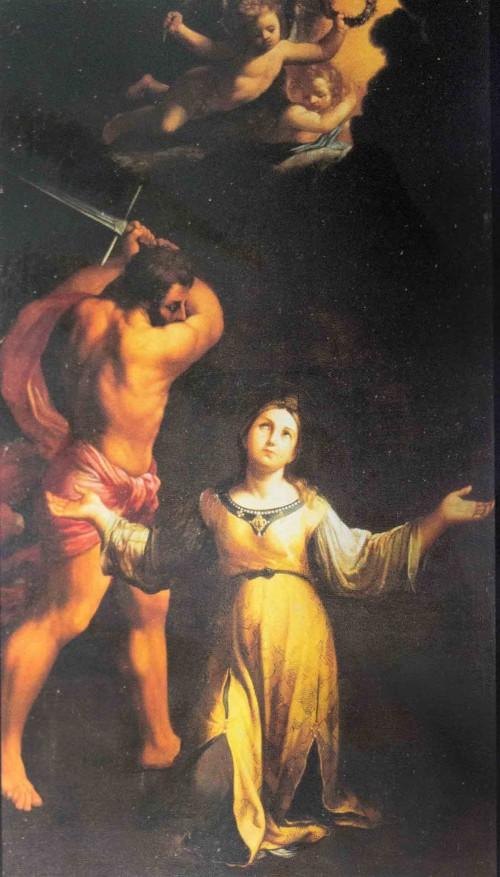 Guido Reni, Męczeństwo św. Cecylii, bazylika Santa Cecilia