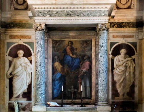 Guido Reni, figures of St. Peter and St. Paul, Sant'Andrea Oratory