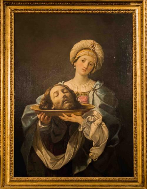 Guido Reni, Salome with the Head of St. John the Baptist, Galleria Nazionale d'Arte Antica, Palazzo Corsini