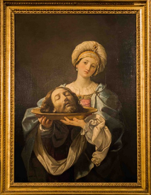Guido Reni, Salome z głową Jana Chrzciciela, Galleria Nazionale d'Arte Antica, Palazzo Corsini