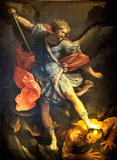 Guido Reni, St. Michael the Archangel, Church of Santa Maria della Conzcezione
