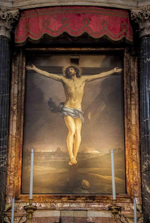 Guido Reni, The Crucifixion, main altar of the Church of San Lorenzo in Lucina