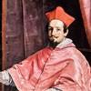 Guido Reni, portret kardynała Bernardino Spady, fragment, Galleria Spada