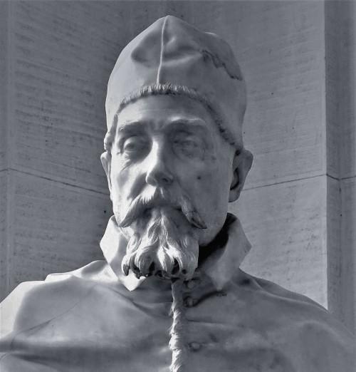 Popiersie papieża Urbana VIII, Gian Lorenzo Bernini, Galleria Nazionale d'Arte Antica, Palazzo Barberini
