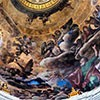 Malowidła na kopule kaplicy Pawła V, Ludovico Cardi, bazylika Santa Maria Maggiore