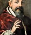 Portret papieża Urbana VIII, fragment, Pietro da Cortona, Musei Capitolini