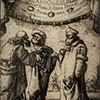 Stefano della Bella, okładka rozprawy Galileusza Dialogo...