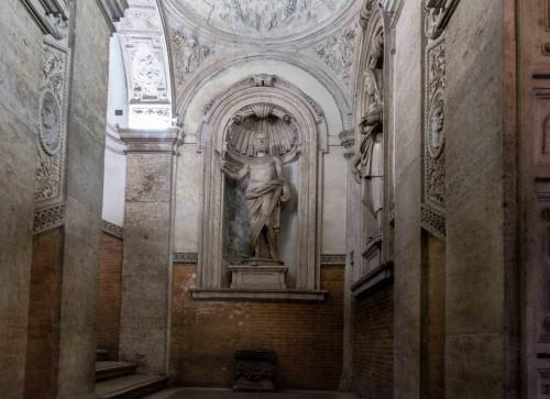 Palazzo Mattei di Giove, dekoracja klatki schodowej