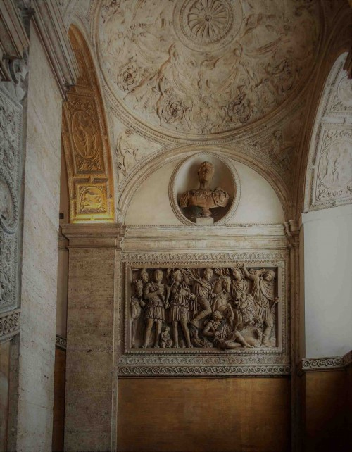 Palazzo Mattei di Giove, widok klatki schodowej