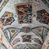 Palazzo Mattei di Giove, dekoracje malarskie sufitu pałacowej galerii, sceny z życia Salomona, Pietro da Cortona